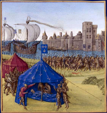 PopImpressKA Journal: Last Testament of Louis IX of France,  to his son Philippe,August 1270, before the walls of Tunis (Carthage)