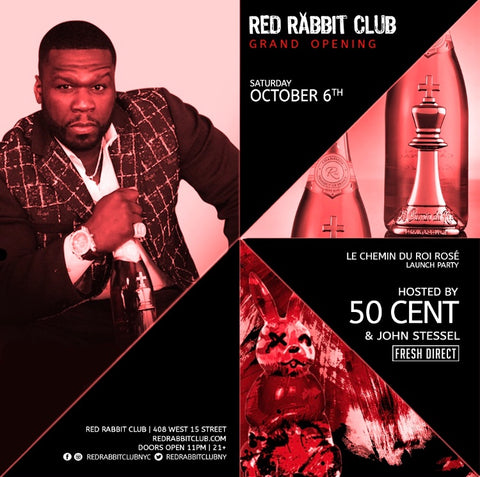 PopImpressKA Journal:  50 cent to host Red Rabbit Club Grand Opening