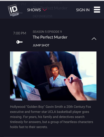 "PopImpressKA Journal: ""The Perfect Murder"" this Thursday night, 7pm on ID Inbox x"