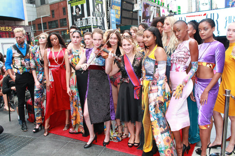 "PopImpressKA Journal: IGYFASHION ""NYFW"" TIMES SQUARE 2019 PRESENTS PopImpressKA Art Couture By Baroness Olga Papkovitch"
