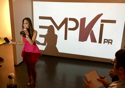 PopImpressKA Journal: EMPKT PR LAUNCH A SUCCESS!