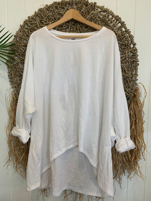 moana top-white