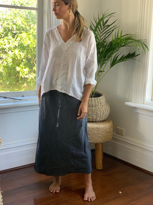 anthea skirt - charcoal