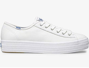 keds triple kick leather white sneaker