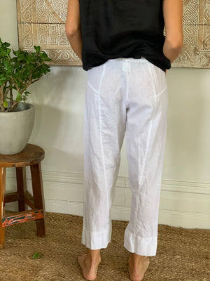 Darcy pant-white