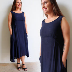 Abbey Road Dress, Women's Dress, Plus Size, Sleeveless Dress