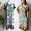 Charlie Shift Dress Kujaku, Womens Dress, Plus Size Clothing, Floral Dress
