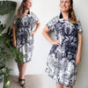 Charlie Shift Dress Provincial, Womens Dress, Plus Size Clothing, Kobomo Clothing