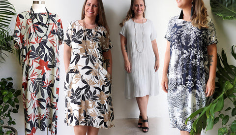 Charlie Shift Dress, Womens Dress, Plus Size Clothing