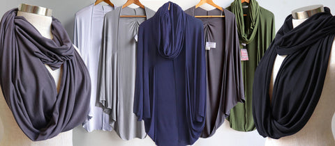 Cocoon and Snoods, Women's Cardigan, Kobomo on the Go, Plus Size Clothing