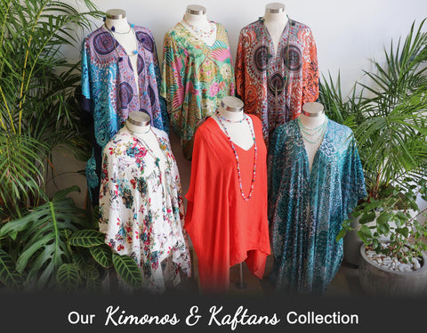 Kimonos + Kaftans, Women's Clothing, Plus Size Clothing