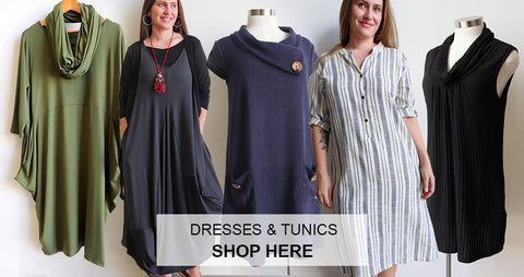 Women's Dresses, women's tunic, Plus Size Clothing, Winter Clothing