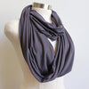 Infinity Scarf Snood in Bamboo, Women's Snood, Women's Scarf
