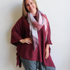 Lakeview Winter Knit Poncho, Womens Poncho, Plus Size Clothing, Winter Poncho