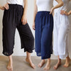 Layered Drawstring Pants, Women's Pants, Plus Size Clothing