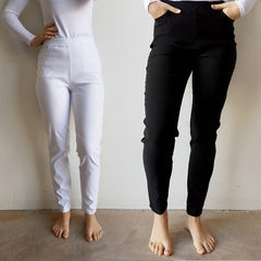Long Capri Pants, Women's Pants, Plus Size, Long Leg Pants, Stretch Pants