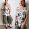 Long Island Lounge Top Sasaki, Womens Top, Plus Size Clothing, Summer Top