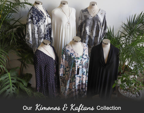 Kimonos + Kaftans, Women's Clothing, Plus Size Clothing, Women's Kimono