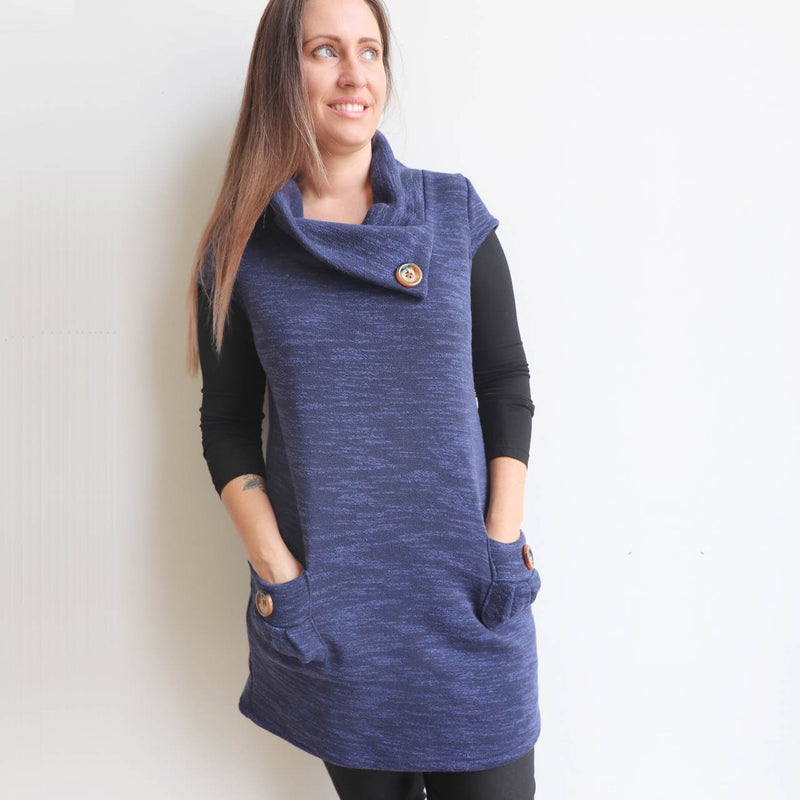 peggy pocket tunic top