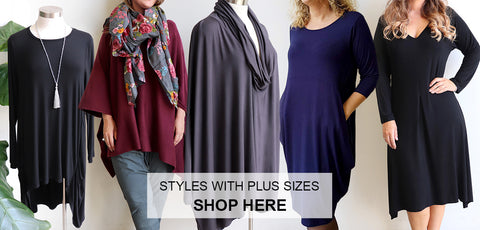 Plus Size Clothing, Women's Clothing. Winter Clothing, Women's Top