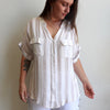 Portsea Blouse, Womens Blouse, Plus Size Clothing, Summer Top