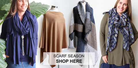 Scarf Season, Women's Scarf, Winter Scarves, Kobomo