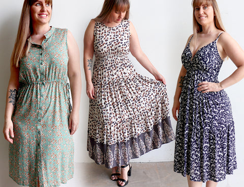Kobomo Fashion, Spring Dresses, Summer Dress, Women's Dress, Plus Size Clothing