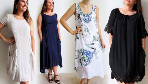 All Seasons Pocket Smock, Penny Lane Dress, Love Me Do Dress, Abbey Road Dress,