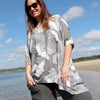 Summer in the City Kaftan Come Fly With Me, Womens Kaftan, Plus Size Clothing