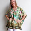 Summer in the City Kaftan Kujaku, Womens Top,