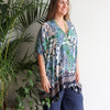 Summer in the City Kaftan Kujaku, Womens Kaftan, Womens Plus Size Clothing