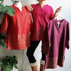 Sunshine Kurta Temple Print, Women's Kurta, Women's Top, PLus Size