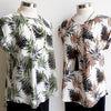 Terrigal Top Fern Leaf, Womens Top, Womens Plus Size