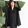 The Glider Poncho Tee, Women's Poncho, Plus Size Clothing,