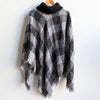 The Highlander Poncho - Criss Cross, Women's Poncho, Women's Top, Winter Knit, Plus Size Clothing