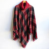 The Highlander Poncho Criss Cross. Women's Poncho, Plus Size Clothing