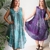 Ideal Sun Dress Paisley Peacock, Womens Clothing, Plus Size Clothing