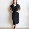 Twist Dress, Women's Dress, Plus Size, Summer Dress
