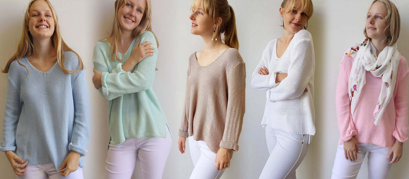 FEEL GOOD COTTON KNITS