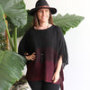 Vail Poncho Kaftan, Women's Poncho, Winter Poncho, Plus Size Clothing