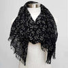 Walk In The Park Cotton Scarf, Women's Scarf, Winter Scarf