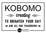 Kobomo Fashion, Buy 1 Give 1, Business for Good