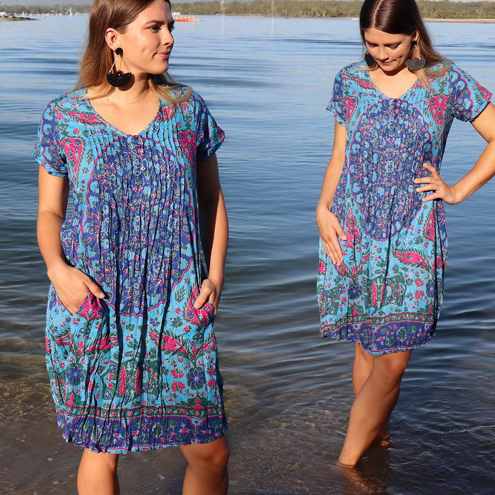 One Summer Tunic Dress - South Pacific