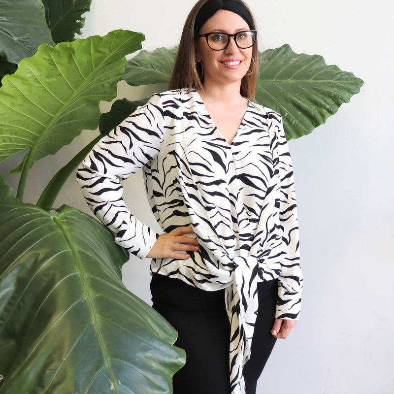 The Serengeti Blouse