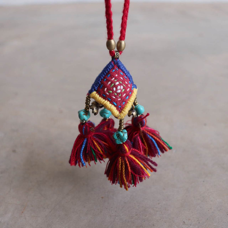 Hmong Hill Tribe Necklace