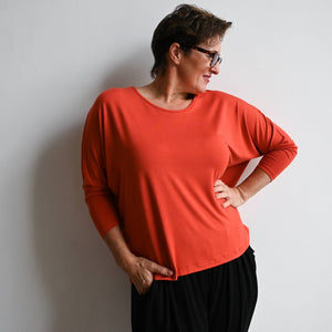 Bamboo Batwing Tee - Long Sleeve