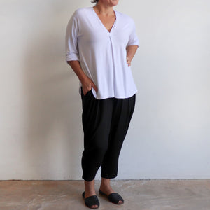 Bamboo Lounge Pant by KOBOMO is a plus-size, pull-on stretch jodhpur style with pockets. With Go To Top.