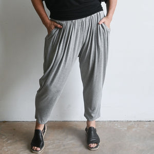 Bamboo Lounge Pant by KOBOMO - Marle Grey