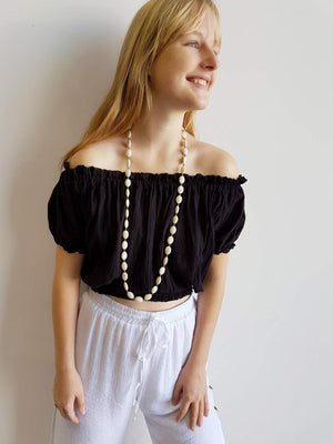 Spanish Peasant Blouse Top