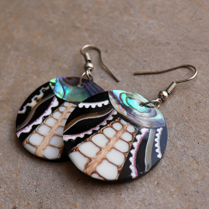 By The Sea Shore Earrings